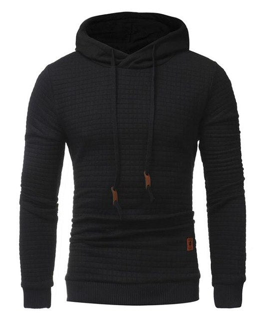 Hoodies Men 2018 Brand Male Long Sleeve Solid Color Hooded Sweatshirt Mens Hoodie Tracksuit Sweat Coat Casual Sportswear 4XL-novahe