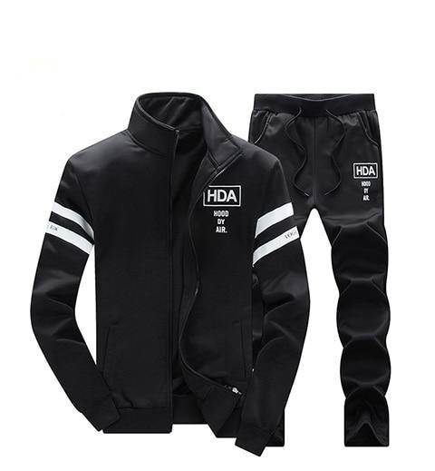 Brand-Clothing Menswear Fashion Tracksuit Casual SportSuit Mens Spring/Winter Hoodies/Sweatshirts Coat+Pant Tracksuit Men Polo-novahe