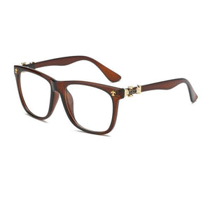 Vintage Eyeglasses Men Women Eyeglasses Optical For Myopia Eyeglasses Frame Plain Retro Eye Glasses Frame oculos de grau A0111-novahe