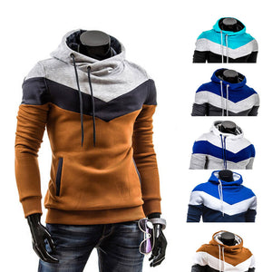 New Fashionable Men Hooded Leisure Hoodie With a Soft Fluff and Thicken -MX8-novahe