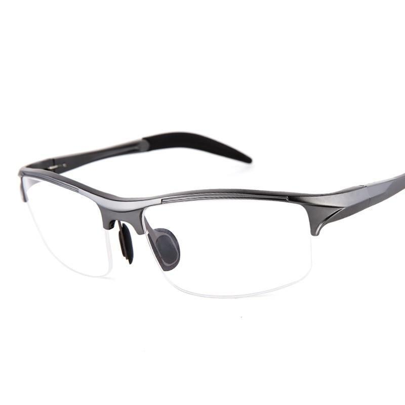 ELECCION Brand Prescription Men Glasses Frame Aluminium Magnesium Alloy Frame Spectacle Eyeglasses Myopia Glasses sports goggles-novahe