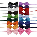 2018 Children Solid Bow Butterfly Ties Fashion Cute Child Chorus Perform Adult Student Bow Tie Necktie Collar Accessories-novahe