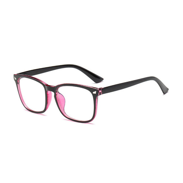 OFIR 2018 New Popular Computer Glasses Frame Women Men Anti-blue Radiation Protection Flat Mirror Square Myopia Frame Eyeglasses-novahe