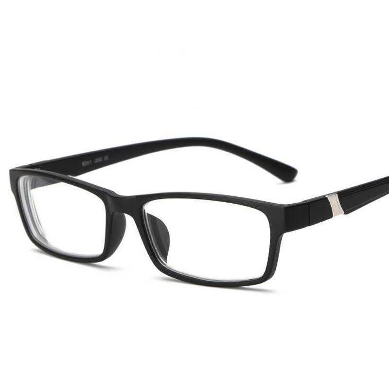 -1.0 -1.5 -2.0 -2.5 -3.0 -3.5 -4.0~-6.0 Myopia Memory Frame HD Resin Finished Myopia Glasses Men Women Shortsighted Eyeglasses-novahe