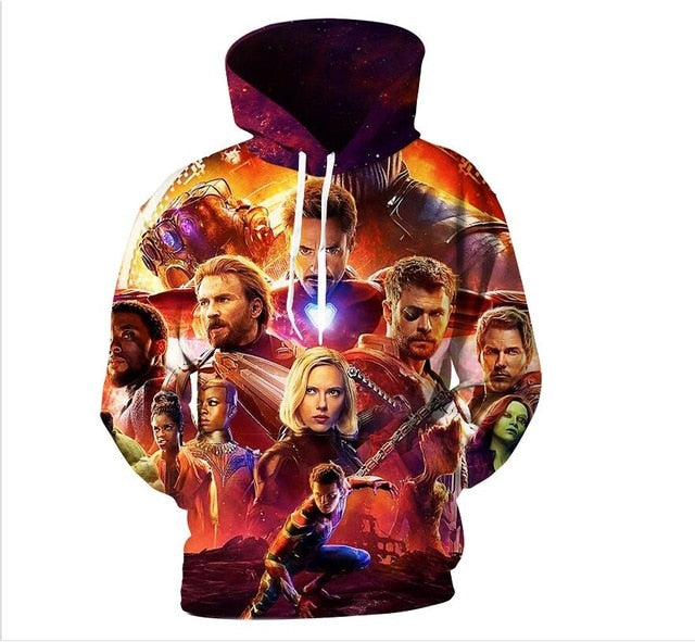 YFFUSHI 2018 Hot Sale Men hoodies Fashion men Spiderman 3d print Hoodies Streetwear Casual Cospaly Sweatshirt Plus Size 5XL-novahe