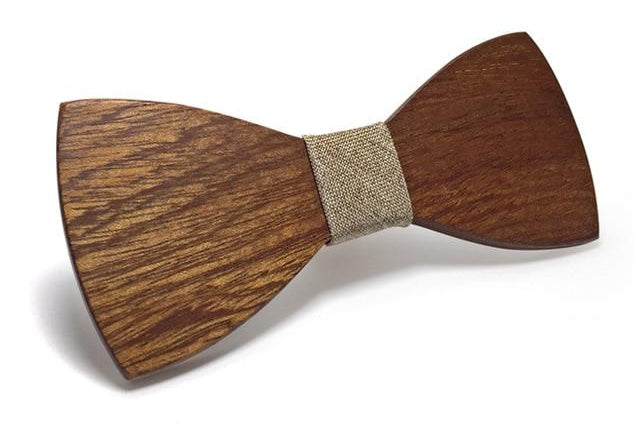 Mahoosive Wood Bow Tie Mens Wooden Bow Ties Gravatas Corbatas Business Butterfly Cravat Party Ties For Men Wood Ties-novahe