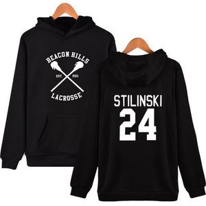 2017 christmas gift Stilinski 24 tracksuit oversized Hoodies sweatshirts Streetwear moletom Teen Wolf Men Women 4xl-novahe