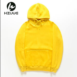 HZIJUE New Color Hoodies Fashion 2018 Autumn Winter Sweatshirts Solid Fleece Size S-XXL Hoodie Hip Hop Man Women Causal Hoodies-novahe