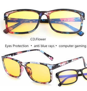 9a9fa798ee5 IVSTA anti blue rays computer Glasses Men Blue Light Coating Gaming Glasses  yellow lenses protection eye
