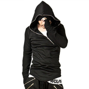 Assassins Creed Hoodies Brand Men Women Stitching Connect Gloves Sweatshirt Sportswear Hoody Hip Hop Autumn Winter Hoodies-novahe