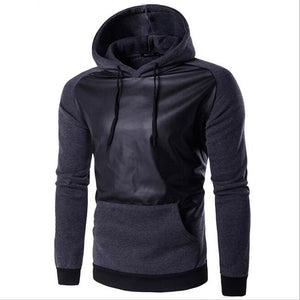 2018 New Fashion Mens Hoodies Hombre Hip Hop Male Brand Hoodie Fashion Geometric Print Sweatshirt Men Slim Fit Mens Pullover XXL-novahe