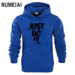 2018 New Autumn Lightning JUST DO IT Hoodies Men Fashion Sweatshirt Mens Hoodies Hip Hop Tracksuit Casual Funny Brand Clothing-novahe