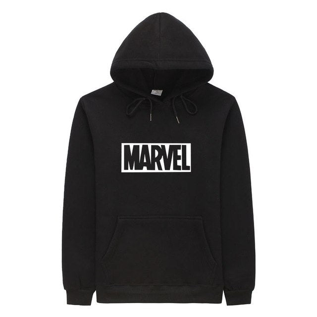 2018 New Brand Marvel men Women Hoodies Sweatshirt Men Pink Skateboards Male Cotton Hooded Sweatshirt-novahe