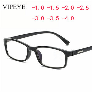 2018 Hot New Women's Men's Finished Myopia Glasses Short Sight Eyewear Black -100 -150 -200 -250 -300 -350 -400-novahe