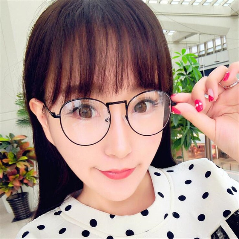 -1 -1.5 -2 -2.5 -3 -3.5 -4 Finished Myopia Glasses Women Men Short-sight Eyewear Metal Frame Women's Men' Myopia Glasses With De-novahe