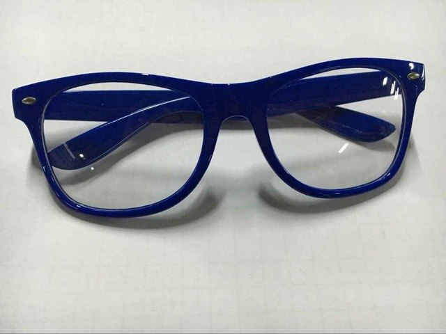 Trendy Unisex Men Women Eyewear Frames Clear Lens Glasses Square Frame 9 Colors-novahe