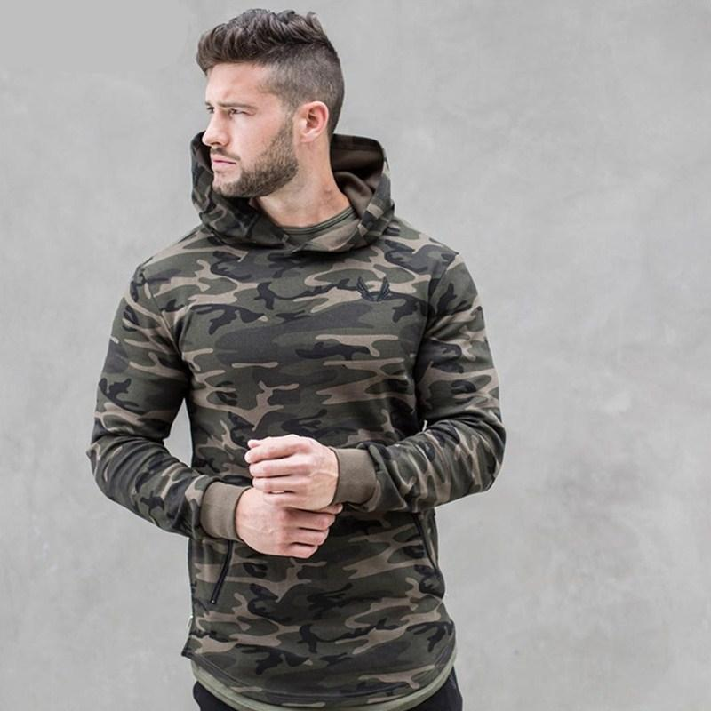 2018 new Mens Camouflage 3d Hoodies Fashion leisure pullover fitness jacket Sweatshirts sportswear clothing-novahe