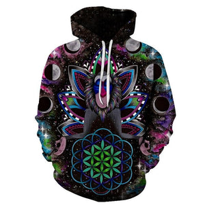 Monkey By Brizbazaar Art 3D Hoodies Men Sweatshrits Space KONGFU Printed Pullover Tracksuits 6xl Autumn Male Tracksuits Hoodie-novahe