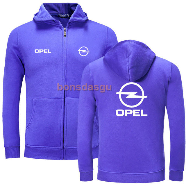 Fashion OPEL logo Print Hoodies Men Casual Long Sleeve Womens zipper Hoodie Sweatshirts Man Hoody Clothing-novahe