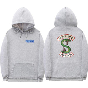 New South Side Serpents Hoodie Sweatshirt Hip hop Streetwear Autumn Spring Hoodies Men fashion Riverdale hoodie-novahe