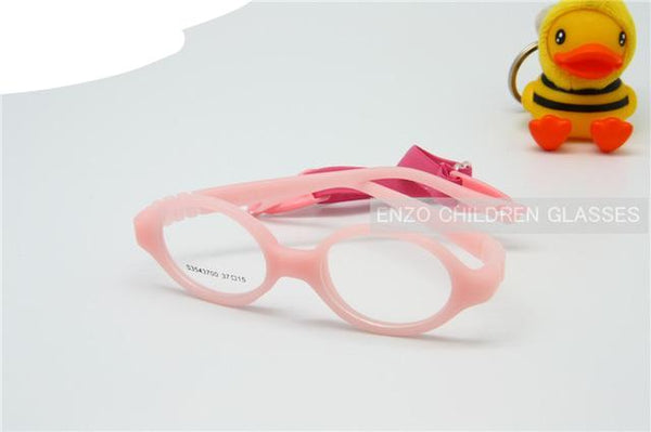 59723f9742 ... Baby Glasses Size 37mm No Screw Safe Bendable with Strap