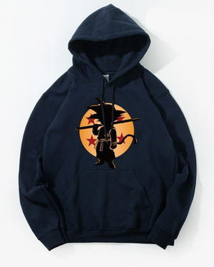 Dragon Ball Z Pocket Hoodie Men Japan Anime Hoodies Mens DragonBall Hooded Sweatshirt 2018 Winter Pullover Long Sleeve Outerwear-novahe