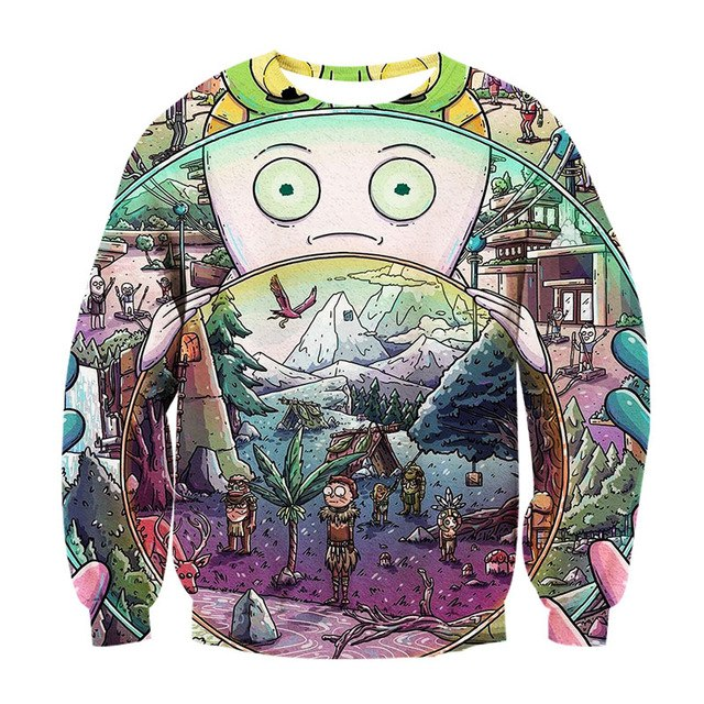 Alisister 3d Hoodies Sweatshirt Women/men Harajuku Style Printed 3d Cartoon Hoodies Funny Crewneck Sweatshirts Dropship-novahe