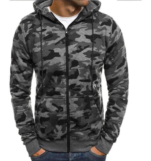 Hoodies Men 2018 Fashion Hoodies Brand Men Personality Zipper Sweatshirt Male Hoody Hip Hop Autumn Winter Hoodie Mens Pullover-novahe