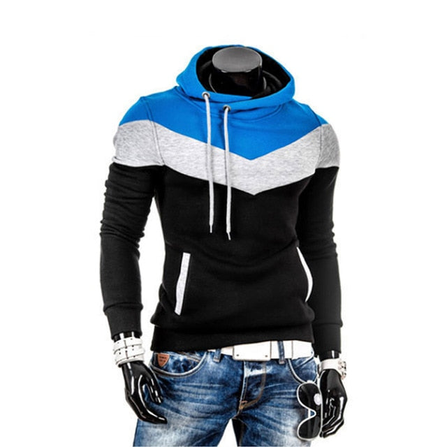 2018 Winter Man Hoodie Sweatshirt Slim Fit Hooded Pullover Hip Hop Jacket Hoody Sportswear Sweatshirt Male Tracksuits M-3XL 25-novahe