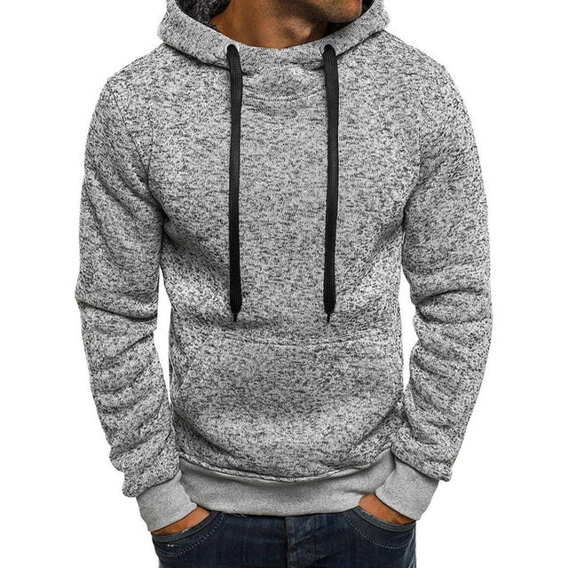 LASPERAL Sweatshirt Men Hoodies 2018 Spring Autumn Hiphop Pullover Hoody Fleece Solid Hooded Sweatshirts Male Clothes Sudaderas-novahe
