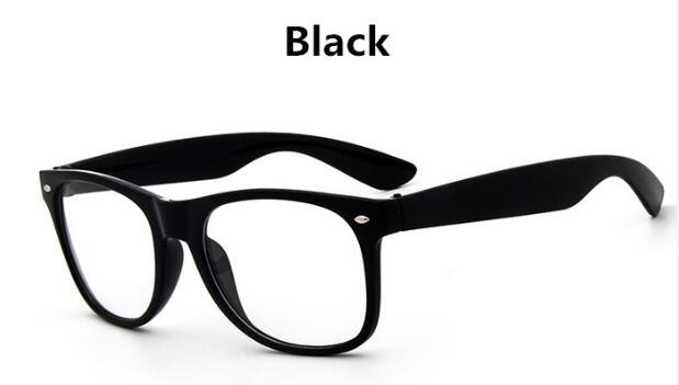 Cheapest Classic vintage women transparent white glasses flat mirror Street shot trendy men eyeglasses student optical frames-novahe