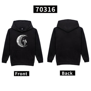 Plus size large 4xl new pullover Hoodies tiger mens TOPS printed Long sleeves relaxed fit Sweatshirts Hooded grey-novahe