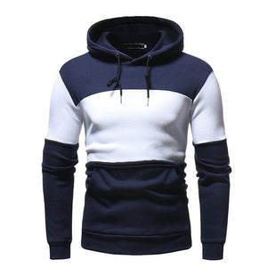 T-Bird Hoodies Men 2018 Autumn Winter Men'S Sweatshirt Brand Hoodie Fashion Hip Hop Stitching Color Pullover Male Cotton Hoody-novahe