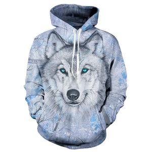 Wolf Sweatshirts Hooded Jackets Men Women Autumn Winter Hoodies 3d Brand Male Long Sleeve Tracksuit Casual Pullovers Plus Size-novahe