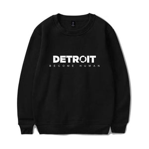 BTS 3D Detroit Become Human Sweatshirts Hot Play Game Detroit Hoodies Men Harajuku Hip Hop Autumn/Winter Capless Sweatshirt 4XL-novahe