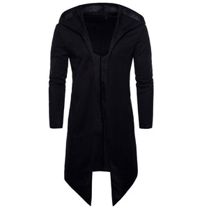 Men Trench Coat Spring Fashion Long Fit Trench Coat Men Overcoat-novahe