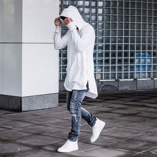 Fashion 2018 HOOD CREW Brand Mens High Streetwear Hooded Hoodies Homme Pullover Sweatshirts High Quality H03-novahe