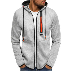 Hoodies Men 2018 Fashion Hoodies Brand Men Personality Zipper Sweatshirt Male Hoody Tracksuit Hip Hop Autumn Winter Hoodie Men-novahe