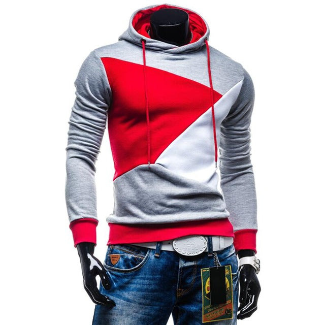 T-Bird Hoodies Men 2018 New Patchwork Fashion Hoodie Hip Hop Sweatshirt Streetwear Autumn Brand Male Slim Fit Pullover Hoody XXL-novahe