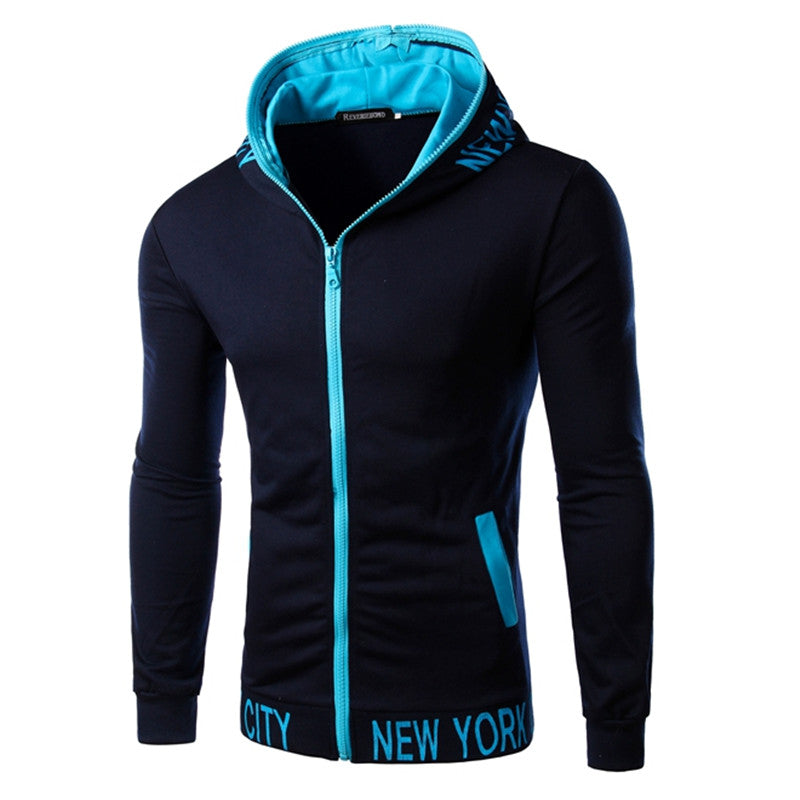 2018 New Fashion Autumn Men Hoodies Brand Slim Fit High Quality Men Sweatshirt Hoodie Casual Zipper Hooded Jacket Male 14QT14-novahe
