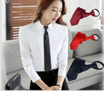 1 piece Pre-tied Shiny Students Zipper Ties For Women Boys Girls Slim Narrow Men Necktie Solid Red Black Navy Blue 5cm Skinny-novahe