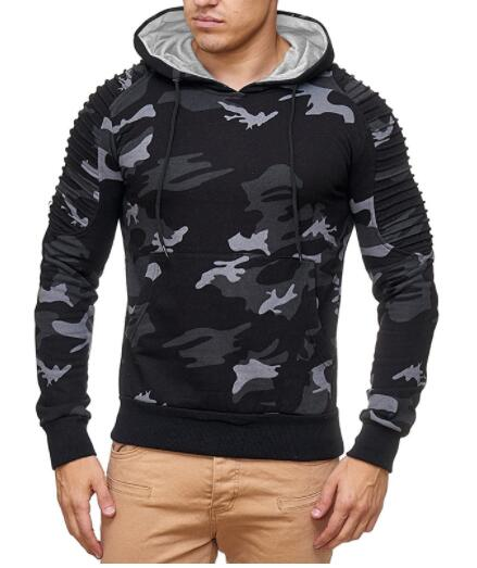 TOLVXHP 2018 New hot sale Fashion Hoodies Men Brand Sweatshirt Male Camouflage Hoody Hip Hop Autumn Winter Hoodie Men Pullover-novahe