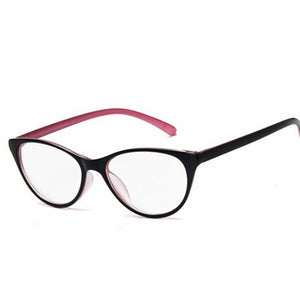 6dcdb2677545 Fashion Women Cat Eye Glasses Frames Cat s Eye Clear Eyeglasses Ladies  Spectacles Frame Retro Women s Glasses