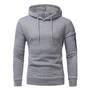 YDTOMM 2018 New high-end Fashion men casual Style Hood zips Sleeve with single Solid Color long sleeve men's Long Sleeve 3xl-novahe