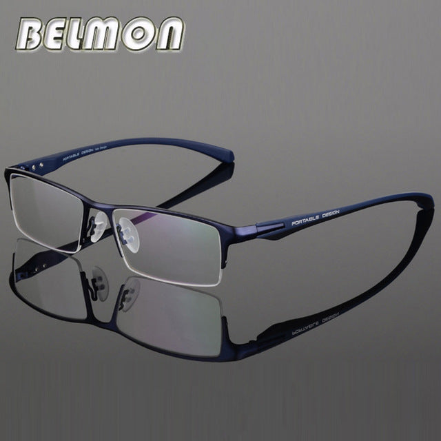 efa53af176 Eyeglasses Frame Men Nerd Computer Optical Prescription Myopia Glasses  Spectacle Frame For Male Clear Lens 0
