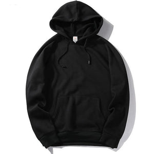 HanHent Solid Color Thick Men's Hoodies 2018 European Size Hooded Pullover Hoodie Fashion Big Size Sweatshirts Fleece Couples-novahe