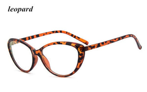 KOTTDO Fashion Women Cat Eye Eyeglasses Frame Men Optical Glasse Frame Retro Eyeglasses Computer Glasses Transparent glasses-novahe