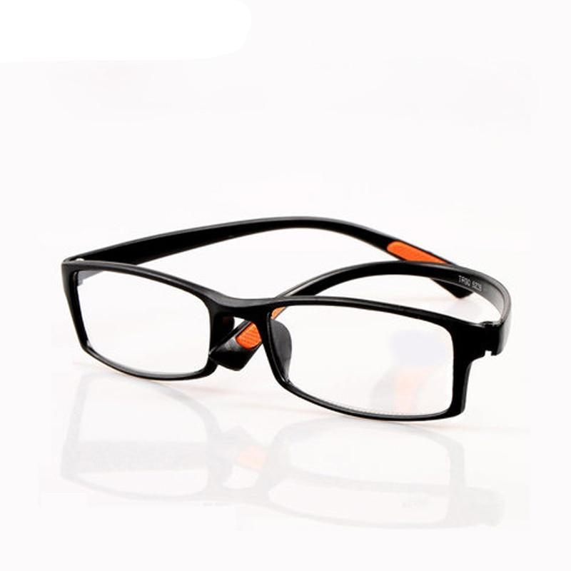 Zilead TR90 Full Frame Myopia Glasses Classcal Black Nearsighted Glasses Clear Lens Short-sight Glasses With Degree -1.0to-4.0-novahe