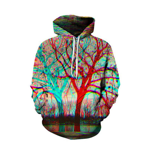 2018 New design Hot Fashion Men/Women 3d Sweatshirts Print Spilled Milk Space Galaxy Hooded Hoodies Thin Unisex Pullovers Tops-novahe