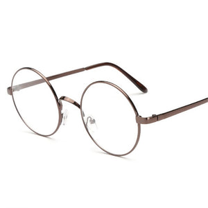 Oulylan Round Glasses Frames for Harry Potter Metal Frames for Glasses Spectacle Clear Lens Optical FemaleTransparent Eyeglasses-novahe